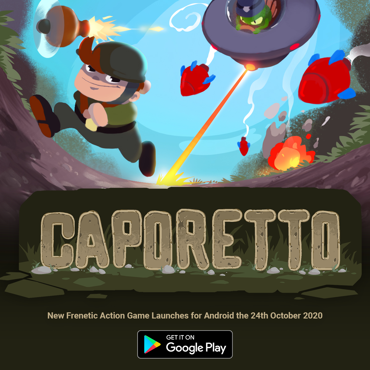 Caporetto – Casual Mobile Game published on Android by It Is The End LTD